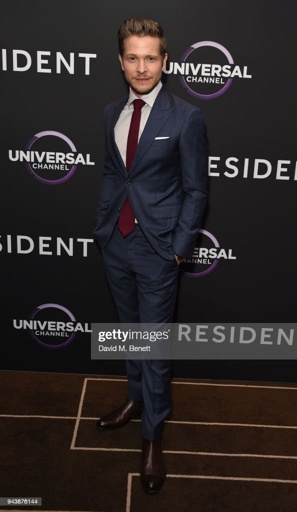 Matt Czuchry attends the screening of The Resident premiering on Universal Channel, Tuesday 10th April at 9pm with Emily VanCamp at Rosewood Hotel on April 9, 2018 in London, England.