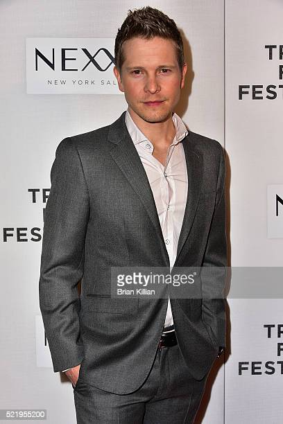 Matt Czuchry attends the Tribeca Tune In 'The Good Wife' 2016 Tribeca Film Festival at John Zuccotti Theater at BMCC Tribeca Performing Arts Center...