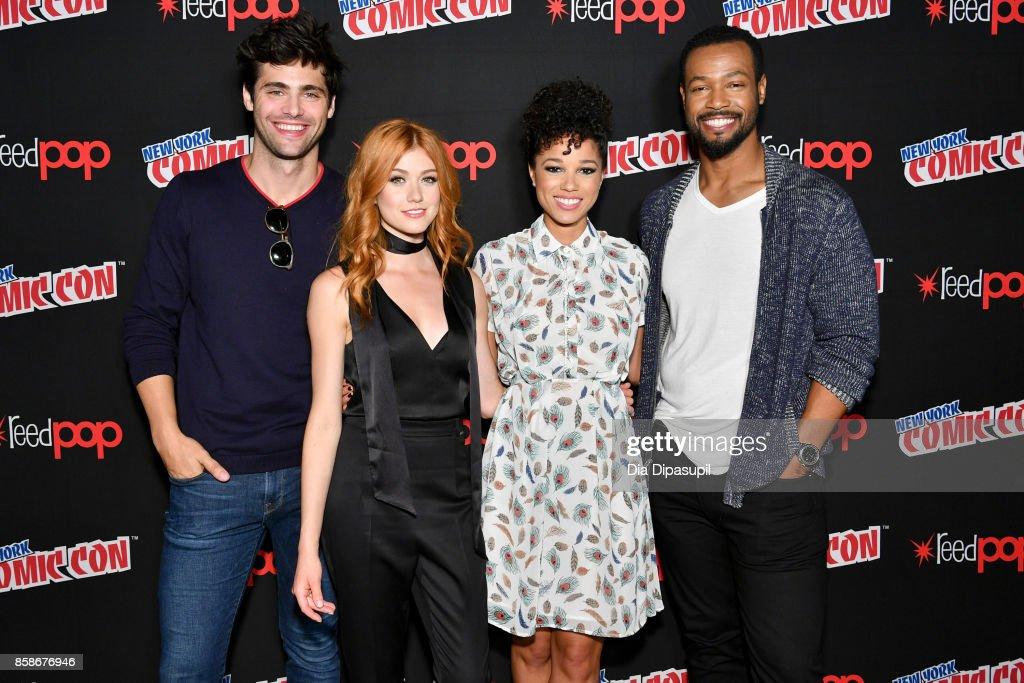 2017 New York Comic Con - Day 3 : News Photo