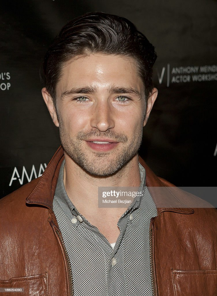 Matt Dallas attends Alphabet Soup For Grown-Ups Book Launch Party at Bugatta on November 14, 2013 in Los Angeles, California.