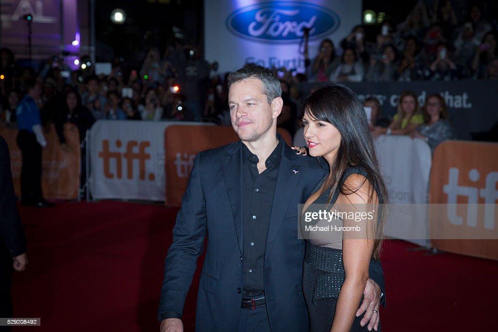 "Canada - ""The Martian"" Premiere - 40th Toronto International Film Festival (TIFF) : News Photo"