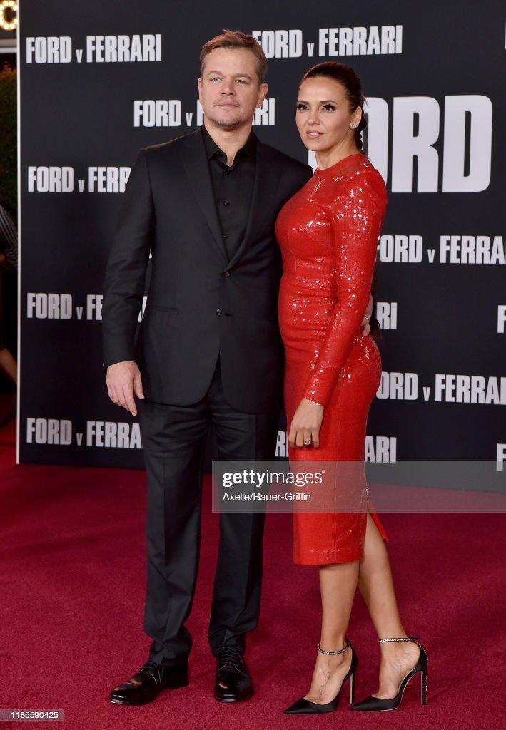 """Premiere Of FOX's """"Ford V Ferrari"""" - Arrivals : News Photo"""