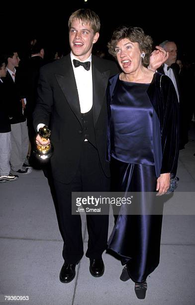 Matt Damon and mother Nancy