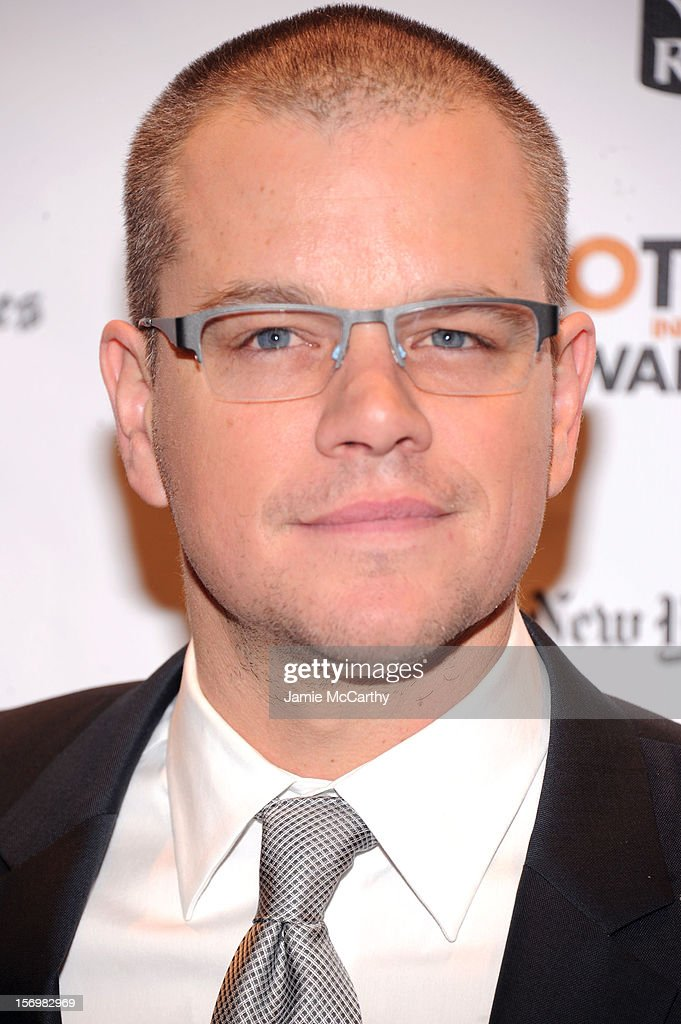 Matt Damon attends the 22nd Annual Gotham Independent Film Awards at Cipriani Wall Street on November 26, 2012 in New York City.