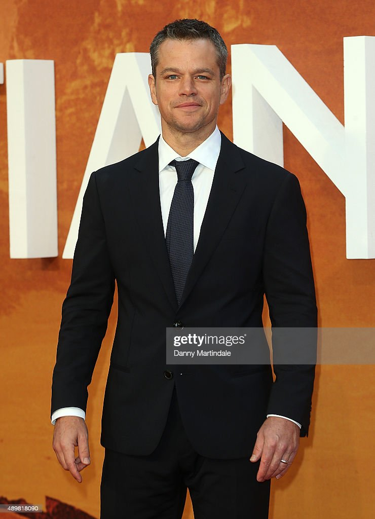 """The Martian"" - European Premiere - Red Carpet Arrivals"