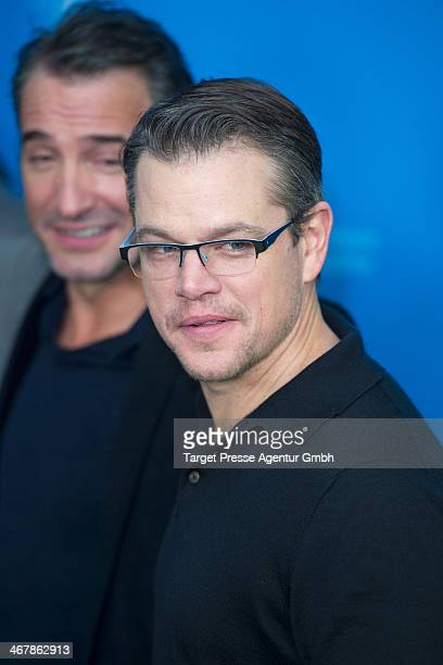 Matt Damon attends the 'The Monuments Men' photocall during 64th Berlinale International Film Festival at Grand Hyatt Hotel on February 8 2014 in...