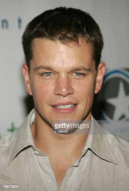 Matt Damon during LivePlanet and Miramax Announce the Winners of the Third Project Greenlight Contest Presented by HP at The Highlands in Hollywood...