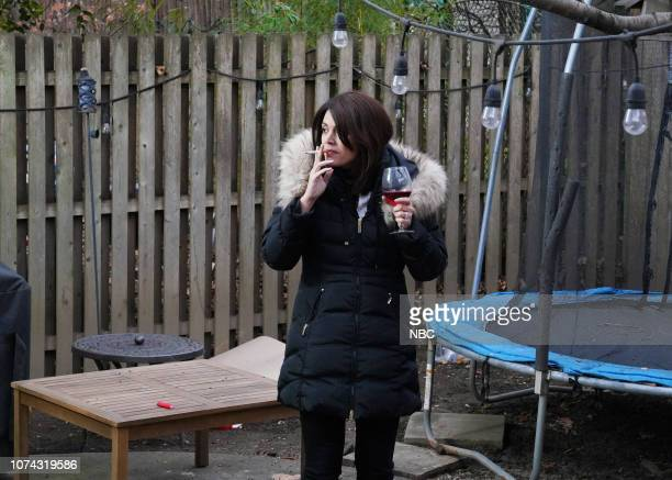 LIVE Matt Damon Episode 1755 Pictured Cecily Strong as the mom during the Best Christmas Ever sketch on Saturday December 15 2018