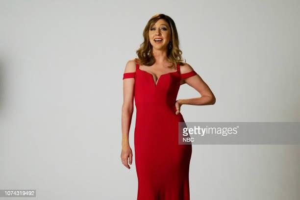 LIVE 'Matt Damon' Episode 1755 Pictured Heidi Gardner as Allison Janney during the 'Oscar Host Auditions' sketch on Saturday December 15 2018