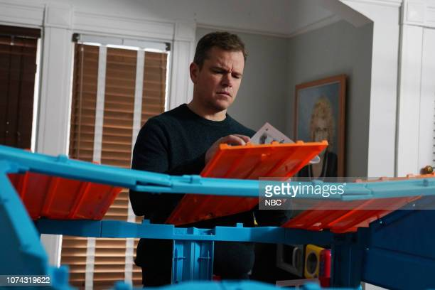 LIVE Matt Damon Episode 1755 Pictured Matt Damon as the dad during the Best Christmas Ever sketch on Saturday December 15 2018