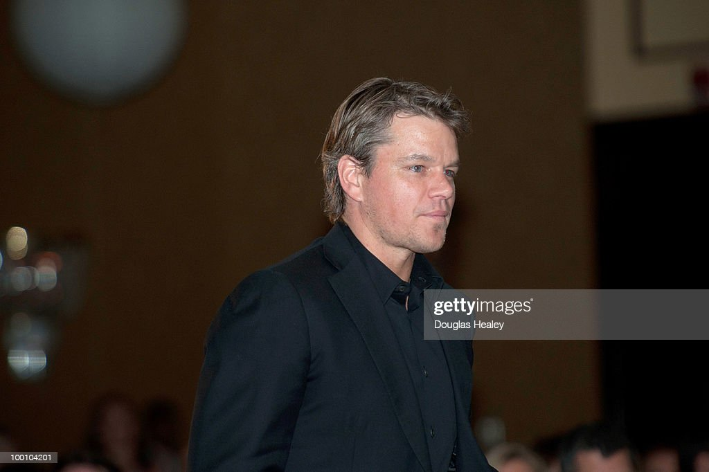 Matt Damon is honored at the Save the Children's 3rd Annual Celebration of Hope at the Hyatt Regency on May 20, 2010 in Old Greenwich, Connecticut.