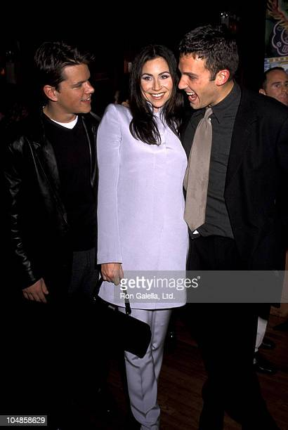 Matt Damon And Minnie Driver Stock Photos and Pictures ...