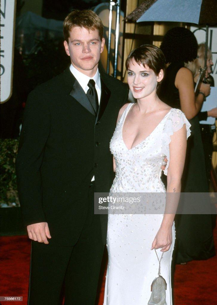 Matt Damon & Winona Ryder