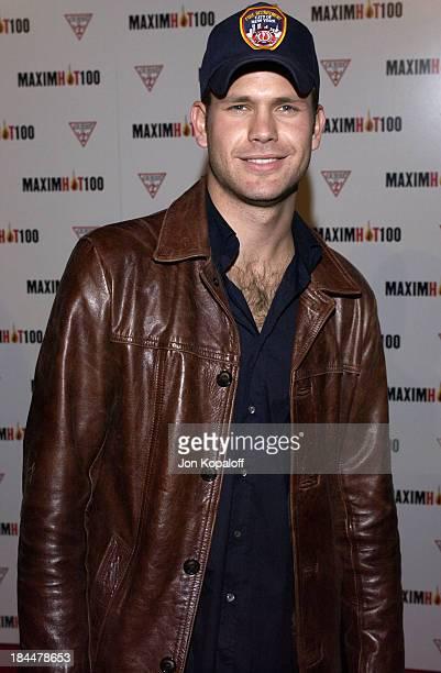 Matt Davis during Maxim Hot 100 Party Arrivals at Yamashiro in Hollywood California United States
