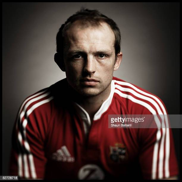 Matt Dawson pictured during the British and Irish Lions Squad Photocall for the 2005 Tour to New Zealand on April 18 2005 in Cardiff Wales