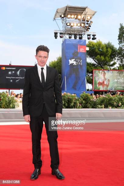 Matt Day walks the red carpet ahead of the 'Sweet Country' screening during the 74th Venice Film Festival at Sala Grande on September 6 2017 in...