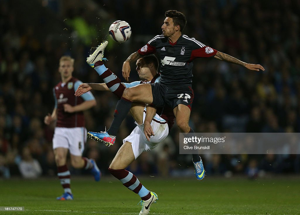Burnley v Nottingam Forest - Capital One Cup Third Round