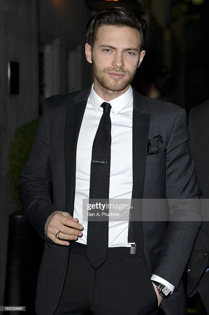 Matt Di Angelo attends the Helping Hands VIP fundraising dinner in aid of WellChild at The Savoy Hotel on March 7, 2013 in London, England.