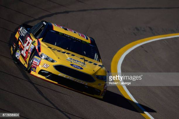 Matt DiBenedetto driver of the CanAm/Kappa Ford practices for the Monster Engergy NASCAR Cup Series CanAm 500 at Phoenix International Raceway on...