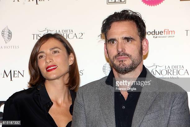 Matt Dillon and Anna Foglietta attend 'Alice Nella Citta' Jury Dinner during the 11th Rome Film Festival at on October 17 2016 in Rome Italy