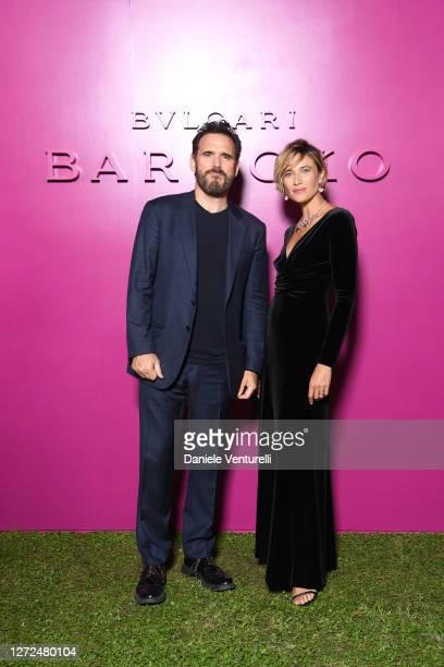 Matt Dillon and Anna Foglietta attend Bulgari Barocco on September 14, 2020 in Rome, Italy.
