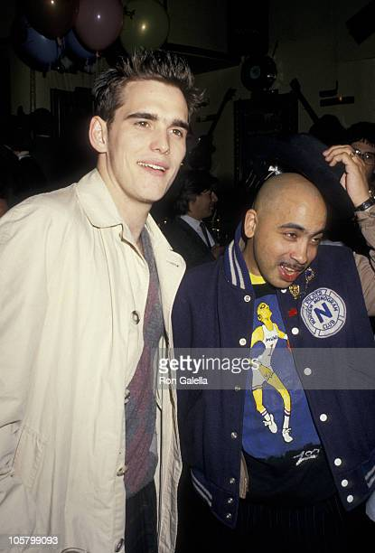 Matt Dillon and Coati Mundi of Kid Creole the Coconuts