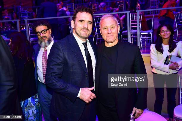 Matt Dillon and Ian Schrager attend The NYSCF Gala And Science Fair at Jazz at Lincoln Center on October 16 2018 in New York City