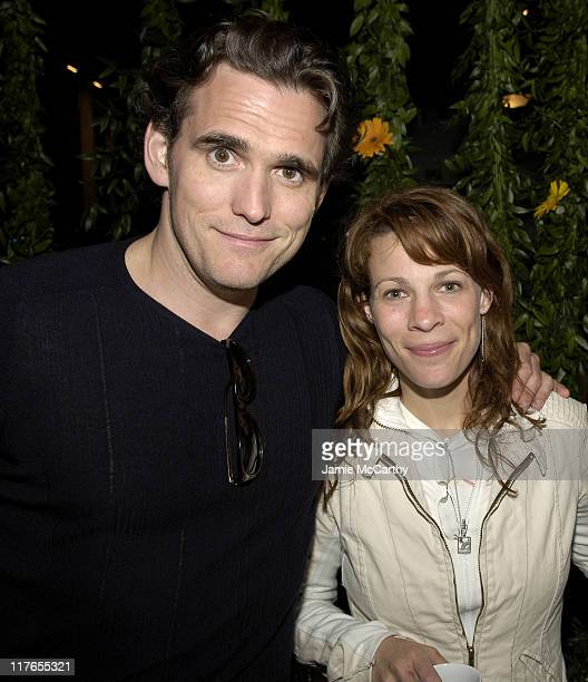 Matt Dillon and Lili Taylor during 2005 Cannes Film Festival AnheuserBusch Hosts Factotum Party at AnheuserBusch Big Eagle Yacht in Cannes France