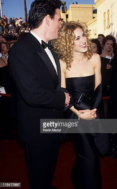 Matt Dillon and Sarah Jessica Parker during The 67th Annual Academy Awards Arrivals at Shrine Auditorium in Los Angeles California United States