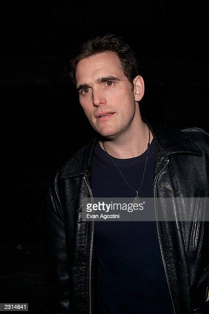 Matt Dillon arriving at the 2001 VH1 Vogue Fashion Awards afterparty at The Park Restaurant in New York City 10/19/01 Photo by Evan...