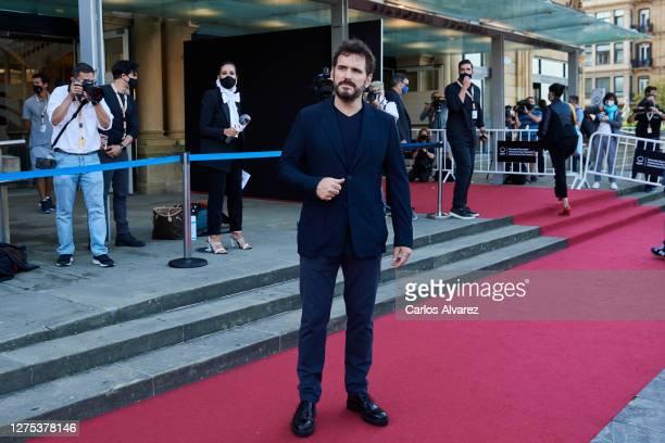 Matt Dillon attends The Great Fellove premiere during the 68th San Sebastian International Film Festival at the Victoria Eugenia Teather on September...