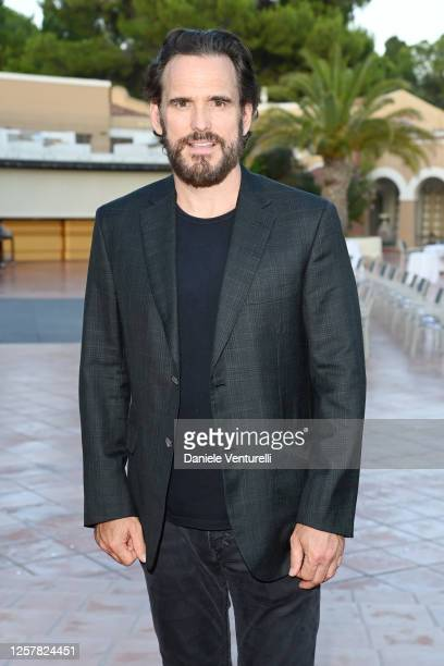 Matt Dillon attends the second day of Filming Italy Sardegna Festival 2020 at Forte Village Resort on July 23 2020 in Cagliari Italy