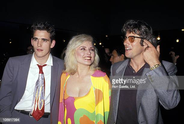 Matt Dillon Debbie Harry and Richard Gere during 'Art Against AIDS' Benefit at Sotheby's in New York City New York United States