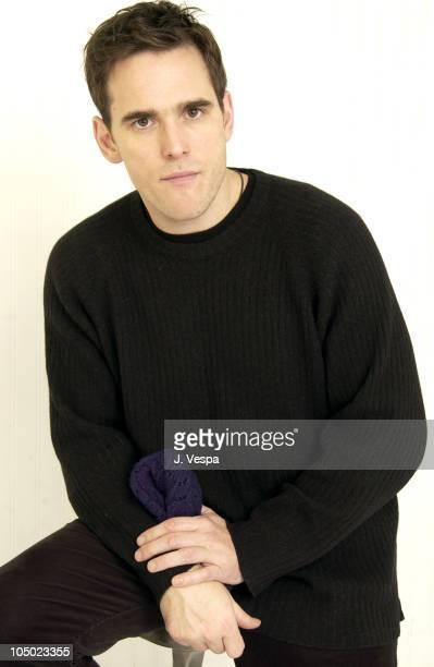 Matt Dillon director / actor / cowriter during 2003 Sundance Film Festival 'City of Ghosts' Portraits at YAHOO Movies Portrait Studio in Park City...
