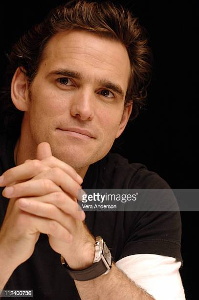 "Matt Dillon during ""Herbie Fully Loaded"" Press Conference with Lindsay Lohan, Michael Keaton and Matt Dillon at Century Plaza in Los Angeles,..."