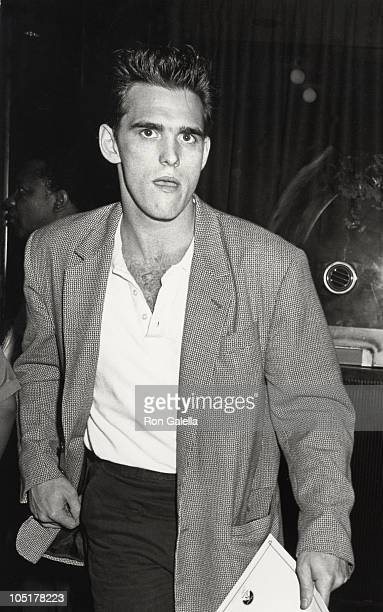 Matt Dillon during 'Untouchables' New York City Premiere at Loews Astor Plaza in New York City New York United States