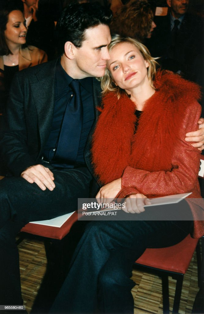 Matt Dillon et Cameron Diaz à Paris : News Photo