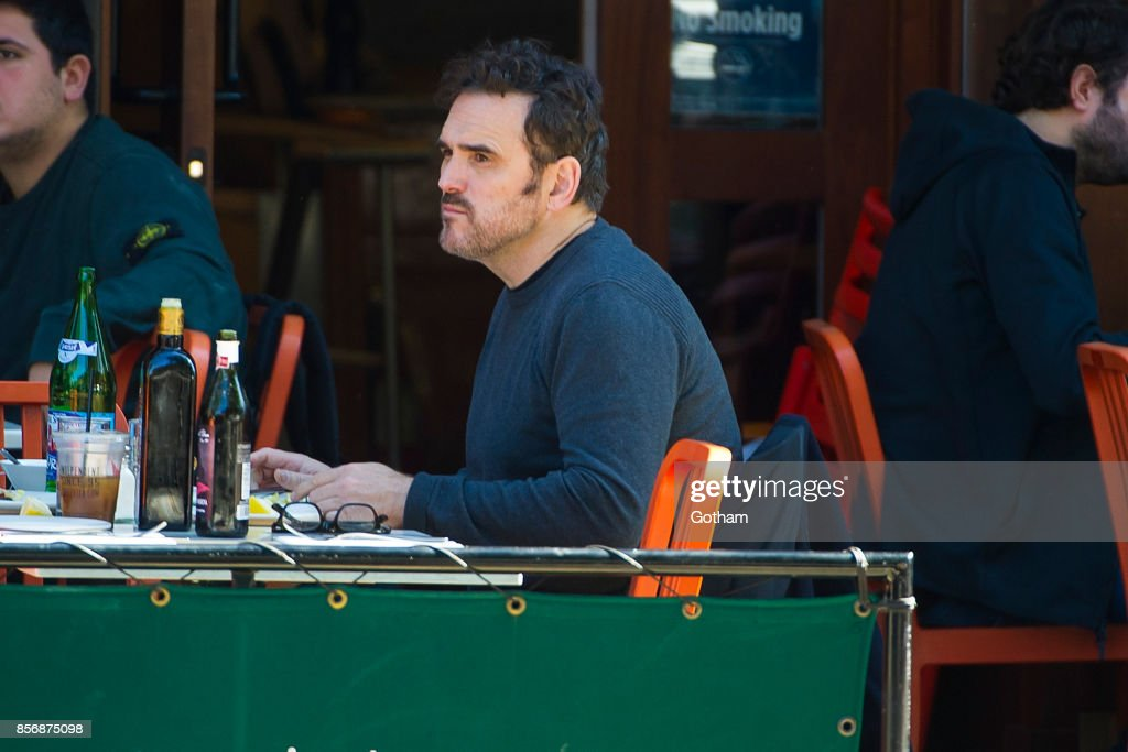 Matt Dillon is seen in the West Village on October 2, 2017 in New York City.