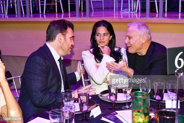 Matt Dillon Tania Schrager and Ian Schrager attend The NYSCF Gala And Science Fair at Jazz at Lincoln Center on October 16 2018 in New York City