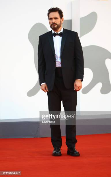 Matt Dillon walks the red carpet ahead of closing ceremony at the 77th Venice Film Festival on September 12, 2020 in Venice, Italy.