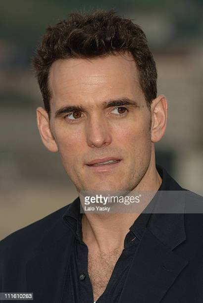 Matt Dillon, winner of Lifetime Achievement Award during 2006 San Sebastian International Film Festival - Matt Dillon Photocall at Kursaal Palace in...