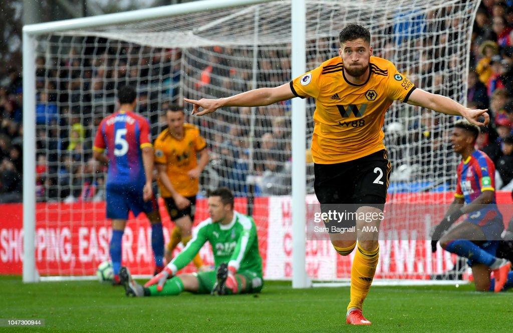 Crystal Palace v Wolverhampton Wanderers - Premier League : News Photo