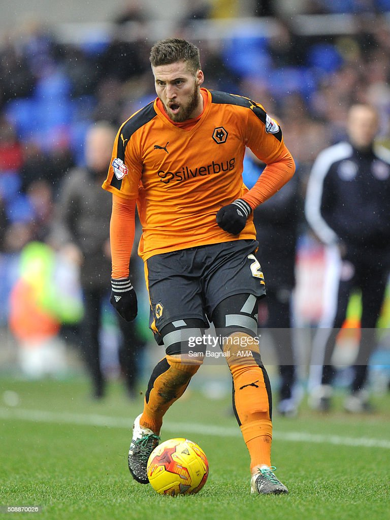 Matt Doherty of Wolverhampton Wanderers during the Sky Bet Championship match between Reading and Wolverhampton Wanderers on February 6, 2016 in Sam Bagnall - AMA/Getty Images)