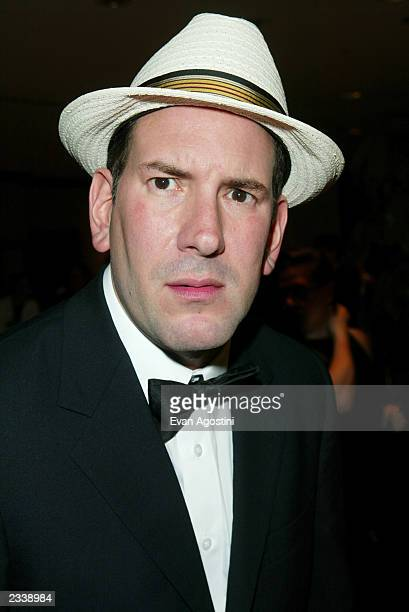 Matt Drudge attends the Annual White House Correspondent's Dinner at the Washington Hilton Hotel April 26 2003 in Washington DC