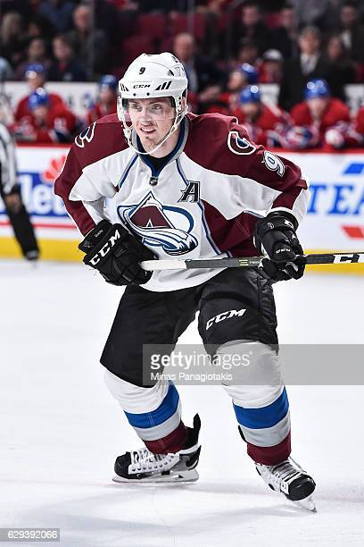 Matt Duchene of the Colorado Avalanche skates during the NHL game against the Montreal Canadiens at the Bell Centre on December 10 2016 in Montreal...