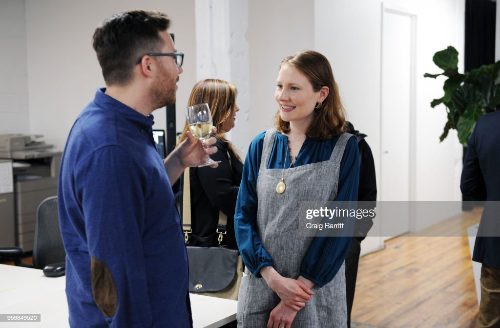 Matt Ducker and Rhoda Boone attend the AD, Bon Appetit and Delta Faucet toast of the Conde Nast Kitchen Studio on May 16, 2018 in New York City.