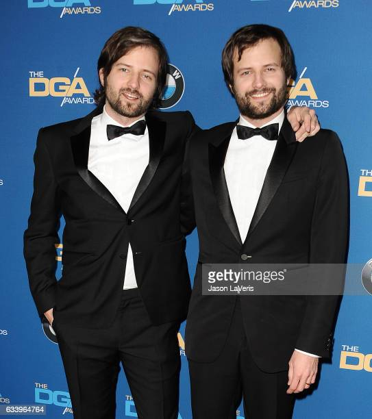 Matt Duffer and Ross Duffer attend the 69th annual Directors Guild of America Awards at The Beverly Hilton Hotel on February 4 2017 in Beverly Hills...