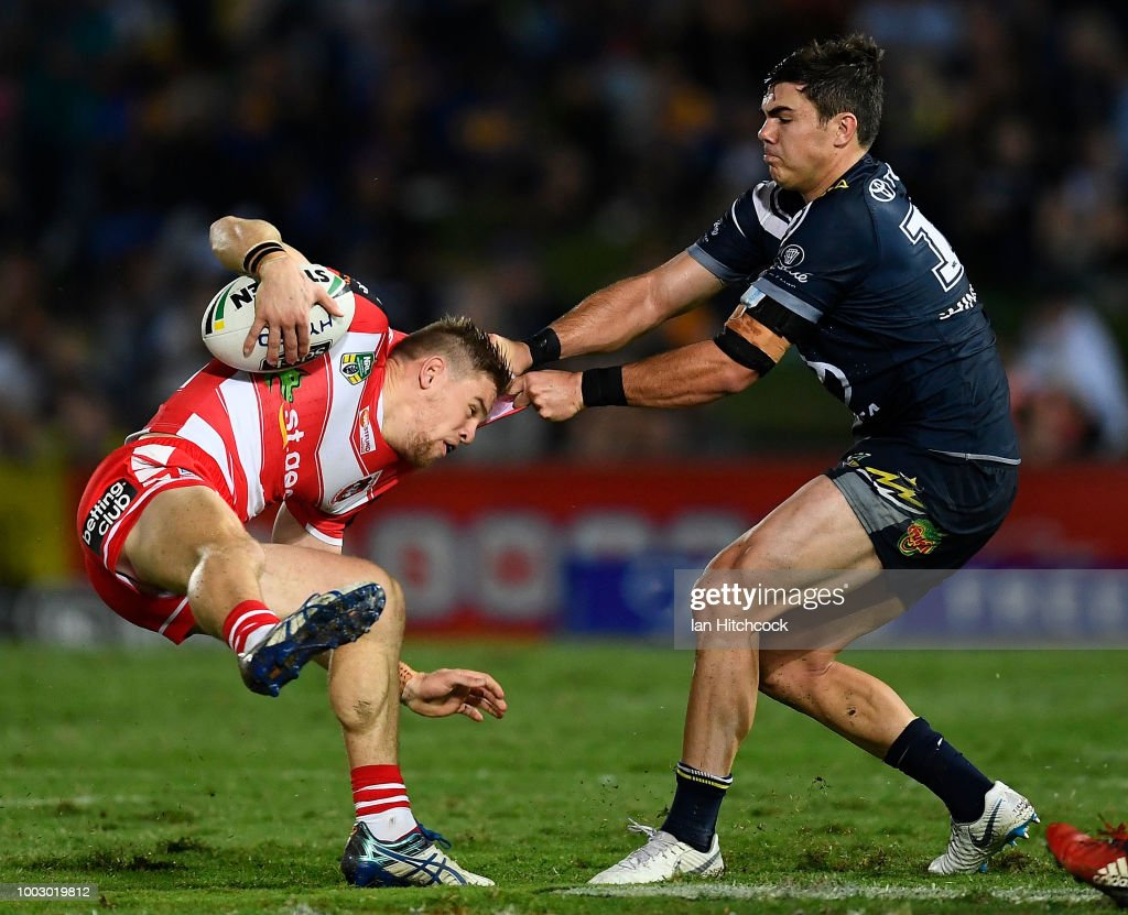 NRL Rd 19 - Cowboys v Dragons