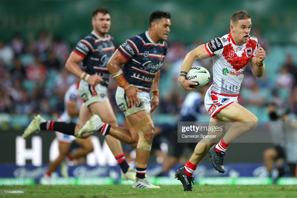 NRL Rd 7 - Roosters v Dragons : News Photo