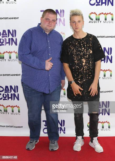 Matt Dugen and Dru Gregory at Dani Cohn's Single Release Party for #FixYourHeart on December 8 2017 in Burbank California